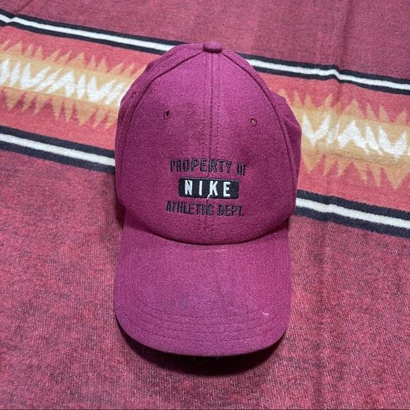 Retro Nike Wool adjustable hat